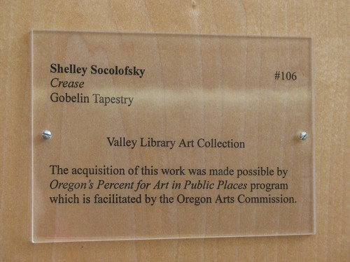 "Sign for ""Crease"" 