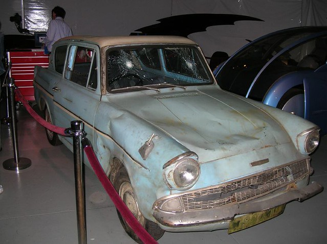 ford anglia from harry potter front kurt eh flickr. Black Bedroom Furniture Sets. Home Design Ideas