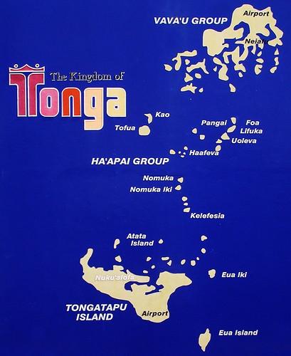 Where Is Tonga Island On The Map