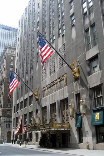 NYC: Waldorf Astoria | The Waldorf-Astoria Hotel has been