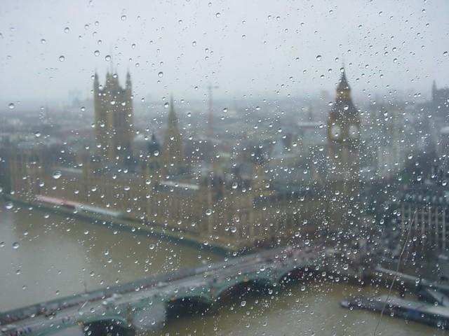 Image result for London seen through rain. Photo credit: davidgsteadman, Flickr