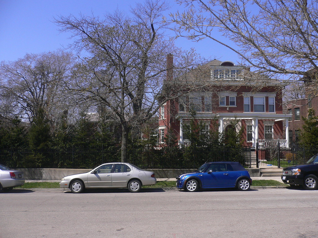 Barack Obamas House Kenwood Chicago This Is Pres Oba Flickr - Kenwood chicago map