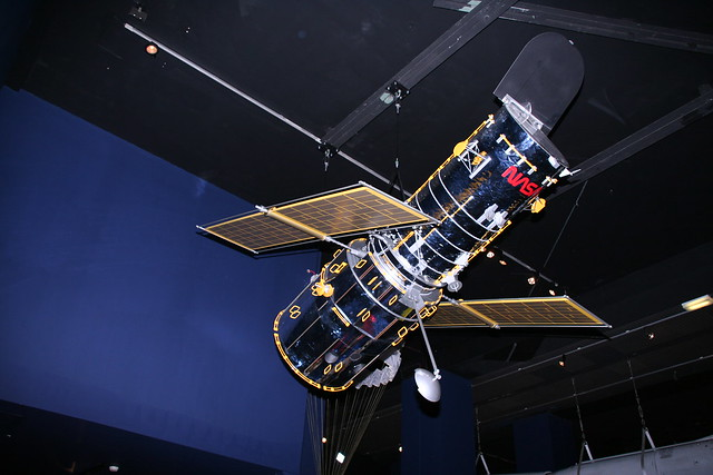 Model of the Hubble Telescope | Flickr - Photo Sharing!