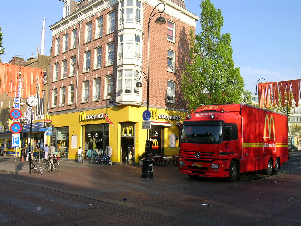 McDonald's Dappermarkt - Amsterdam (Netherlands)   The ...