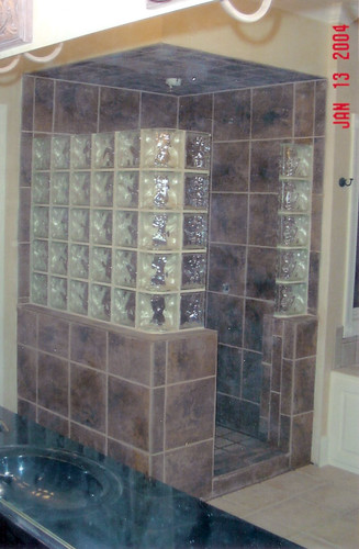 Glass Block Shower Enclosure Risk Russell Flickr