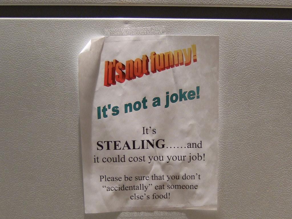 """DSCF1496   """"It's not funny! It's not a joke! It's STEALING ..."""