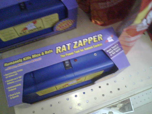 rat zapper now you can humanely kill mice and rats bl flickr. Black Bedroom Furniture Sets. Home Design Ideas