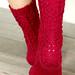 Twisted Flower Socks