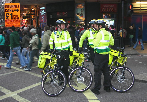 St Johns Ambulance Cycle paramedics in Charing Cross Road | by pomphorhynchus