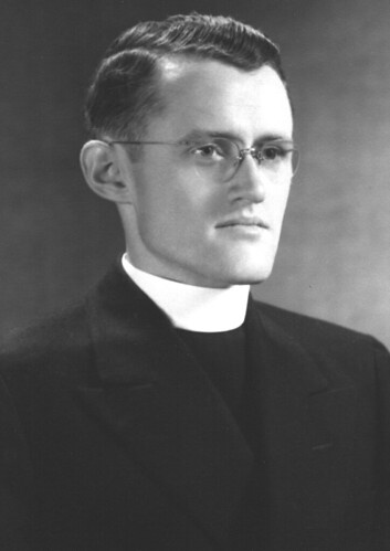 square-jawed clergyman