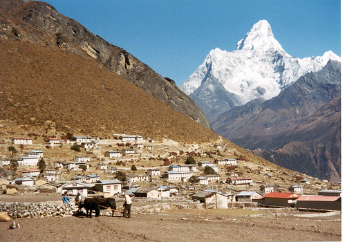 Ama Dablam from Kumjung | by mountain man2007