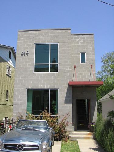 Block house 614 irwin st ne atlanta modern homes tour for Modern house atlanta