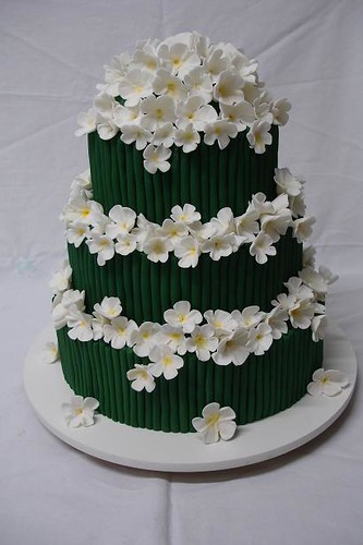 Vogue Wedding Cake 1 By Andrea Schwarz This Cake Was Made Flickr