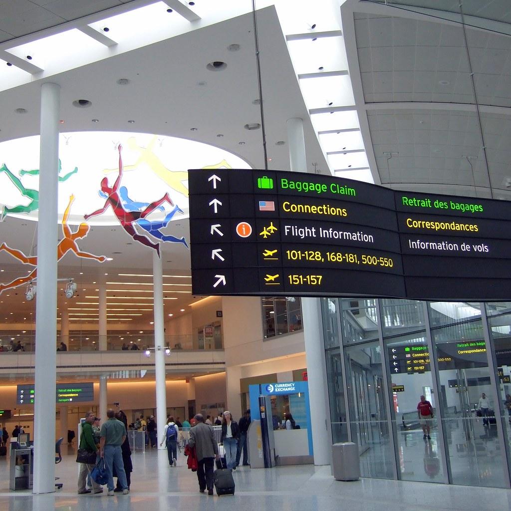 Toronto Pearson Airport Terminal 1 Map Pearson Airport Terminal 1