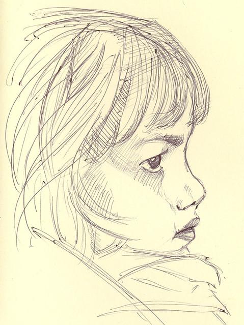 little girl profile kimberly robello flickr