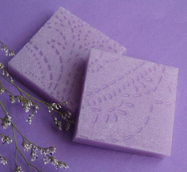 Embossed Soap Bars With A Nod To Kylie Lambert S