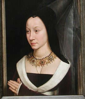Maria Portinari by Hans Memling, 1470 | by rosewithoutathorn84