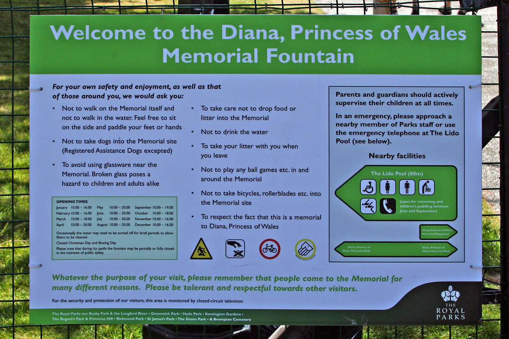 Welcome to diana princess of wales memorial fountain flickr for 32 princess of wales terrace