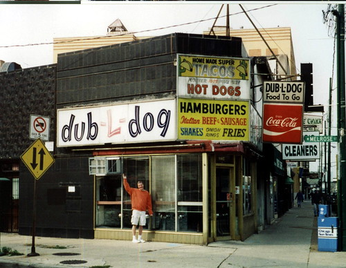 dub-L-dog - Lincoln & Melrose Chicago - 2000 | by Mark 2400