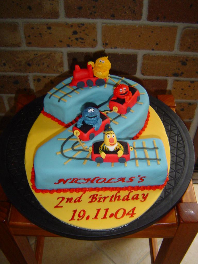 Street Sign Birthday Cake