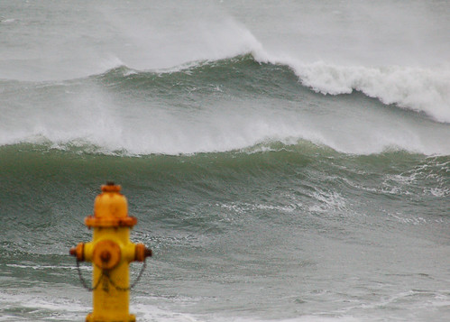 Fire Hydrant and Waves | by cruadinx