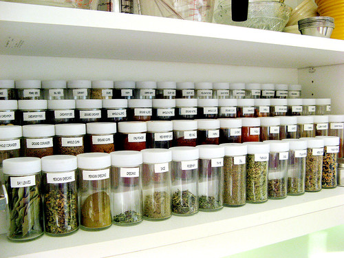 spices, organized! | by Married with Dinner