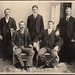 vintage portrait of edwardian men, napa california