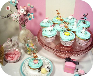 ballerinas & bunnies cupcakes | by holiday_jenny