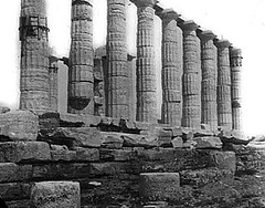 Cape Sounion, Greece - Temple of Poseidon | by Notre Dame Architecture Library