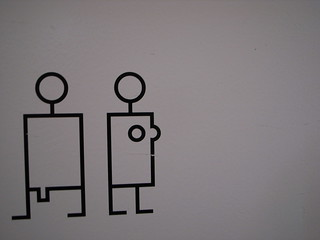 male/female toilet sign | by nicolasnova
