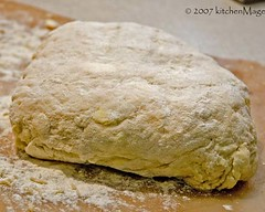 biscuit dough after kneading | by kitchenmage