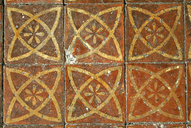 Medieval floor tiles, St Thomas The Apostle, Harty, Kent | Flickr