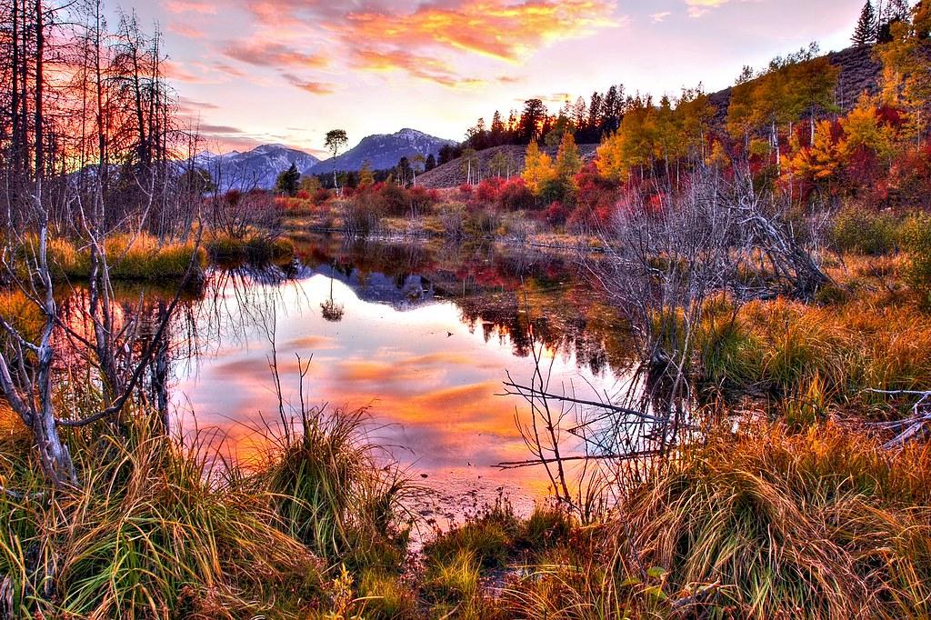 Sundown at rivendell sundown at grand teton national park flickr - 4k wallpaper download ...