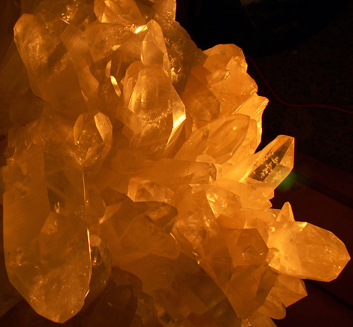 Glowing Crystals, Quartz Giant | by cobalt123