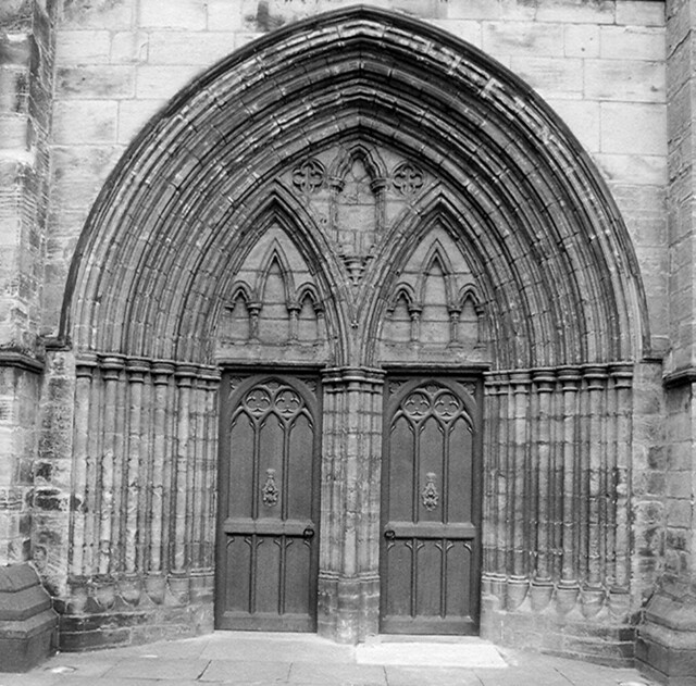 Gothic Doors Glasgow Cathedral Paul Roddy Flickr