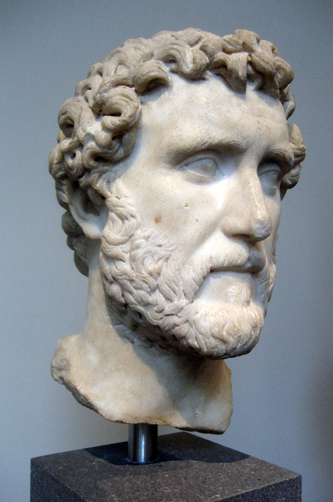 Nyc Metropolitan Museum Of Art Bust Of Emperor Antoninu