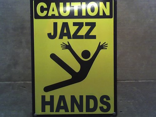 Jazz Hands! | by Laser Burners