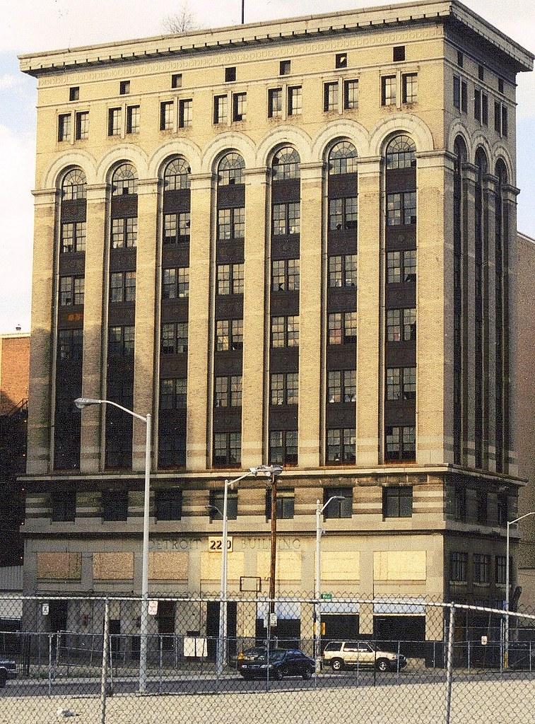 Detroit Life Building Park Avenue Detroit Mi After