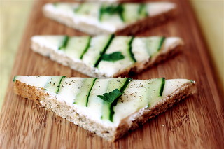 Cucumber Tea Sandwiches | by teenytinyturkey