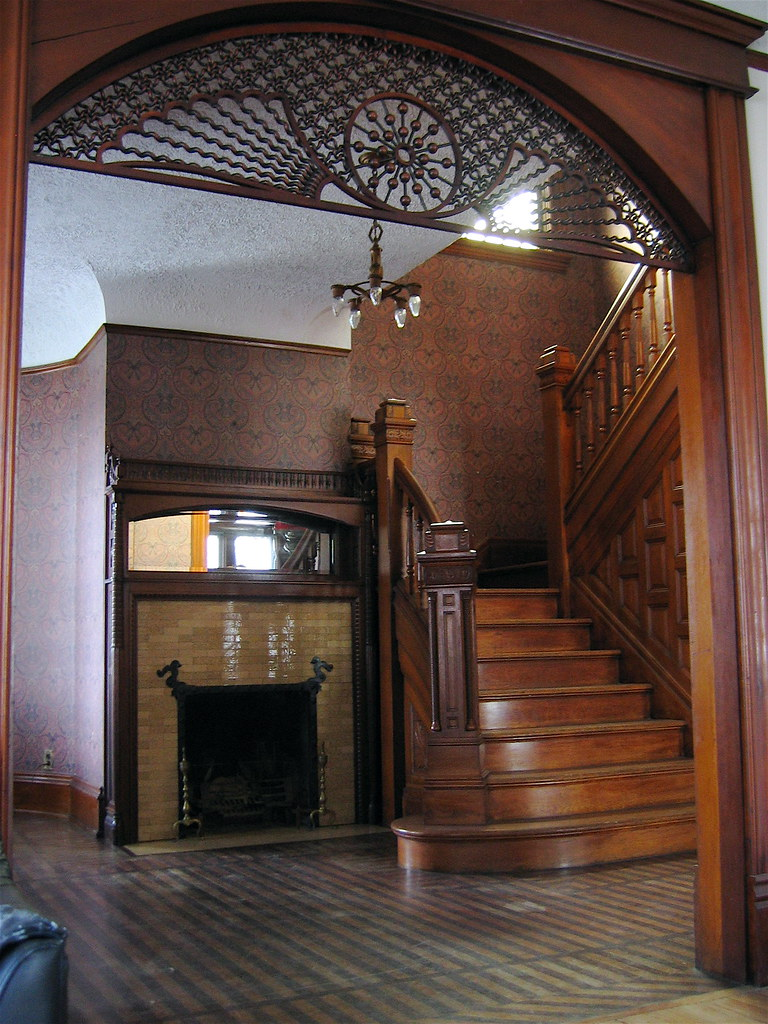 Staircase And Foyer Not Really A Foyer More Of A