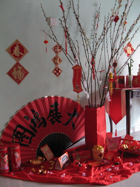 Cny home decoration ii aldern82 flickr for Ang pow decoration
