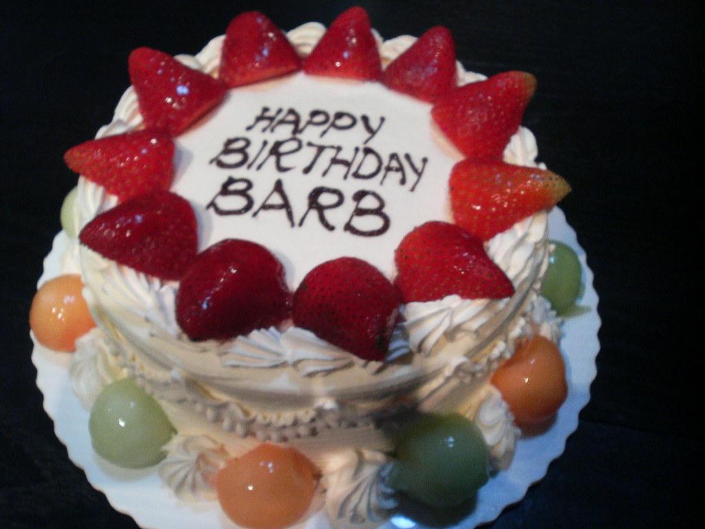 Happy Birthday Barb Cakes