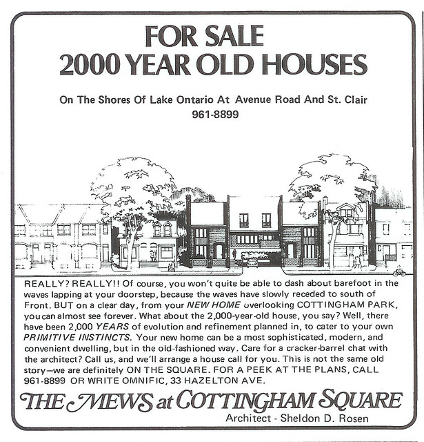 Vintage Ad #236 - 2000 Year Old Houses