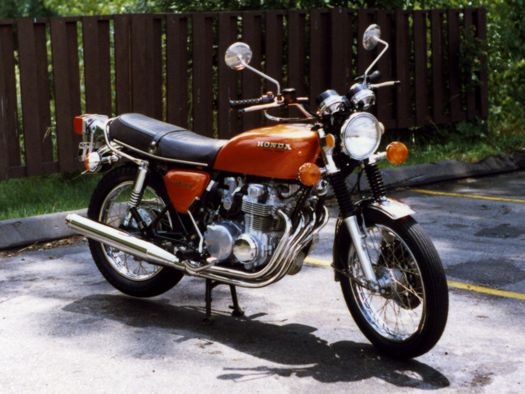 My First Motorcycle A 1975 Honda Cb550f Supersport Flickr