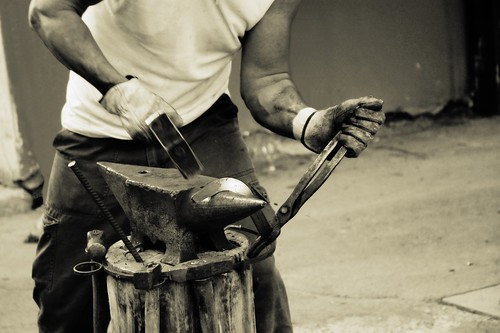 Blacksmith at work | by Nico Tranquilli