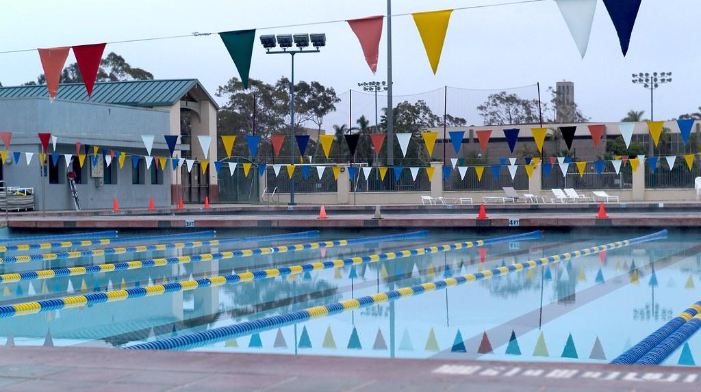 Uc Santa Barbara Pool Pool At Uc Santa Barbara At 9am It Flickr