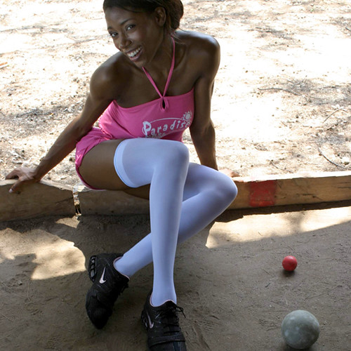Wanna Play? White Stockings. | Akilah is looking for someone… | Flickr