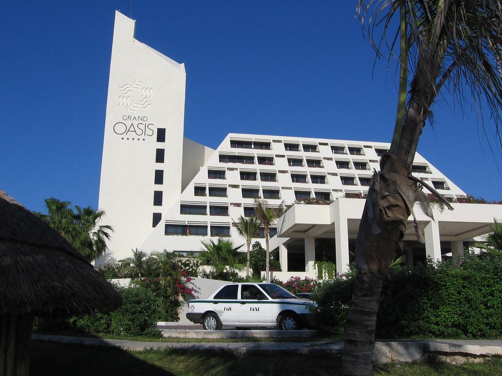 Grand Oasis Cancun Room Service Menu