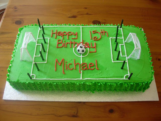 Soccer Theme Cake Ideas