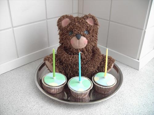 Для торта модель медведя фото
